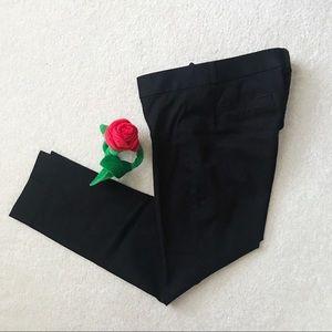 BRF | Black Sloan Cropped Slim Fit Pant | Size 8